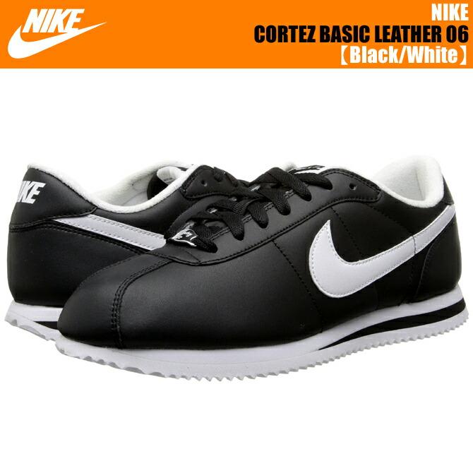 new arrivals e6578 b3578 Nike Cortez Basic Leather 06 Black