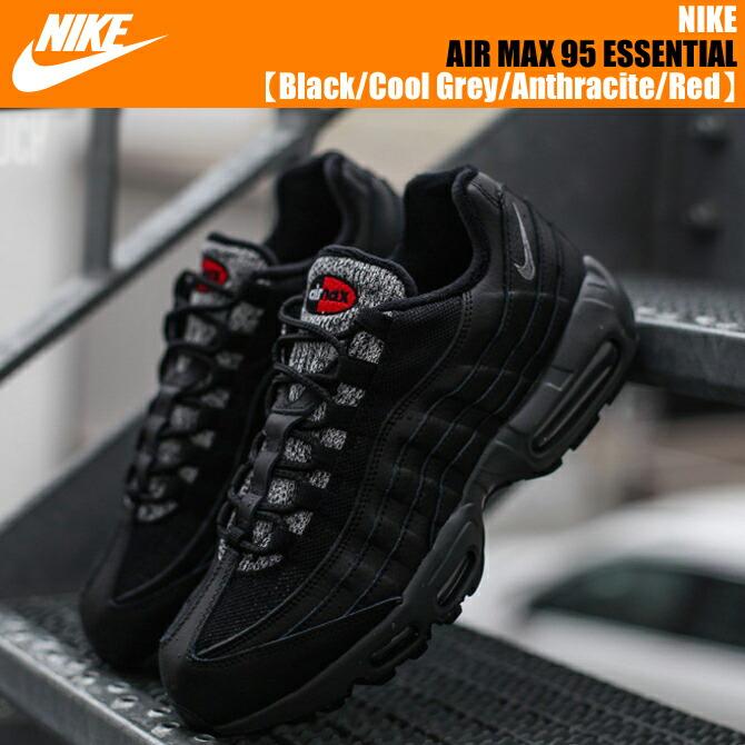 new product 1a1b6 72810 Nike Air Max 95 Essential Black Volt
