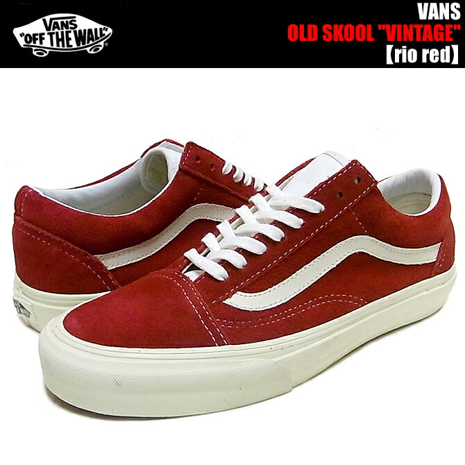 60cc414e24 vans old skool red canvas