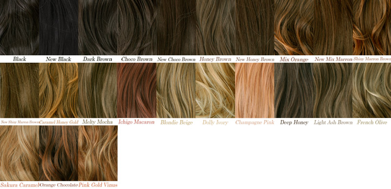 Wig And Hair Extension LineaStoria  Rakuten Global Market Color