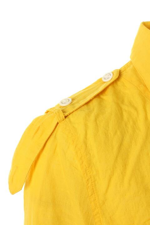 1 piu 1 uguale 3 ウノ ピュ ウノ ウグァーレ トレ GIZA COTTON GAUZE ARMY SUMMER SHIRT shirts