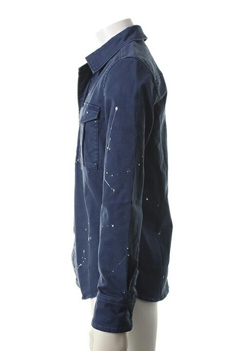 AKM エーケーエム L/S combat army 163 jacket