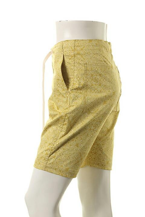 AKM エーケーエム paisley shorts pants