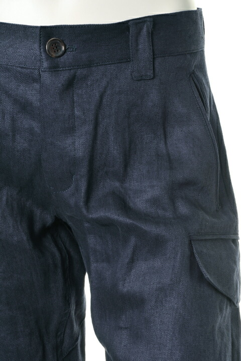AKM エーケーエム EXCLUSIVE LINEN collection button shorts