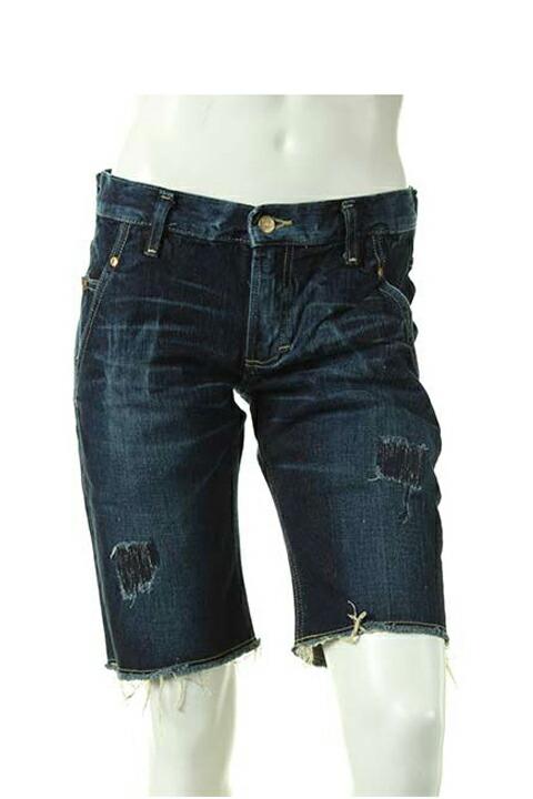 AKM エーケーエム bandy-legged shorts