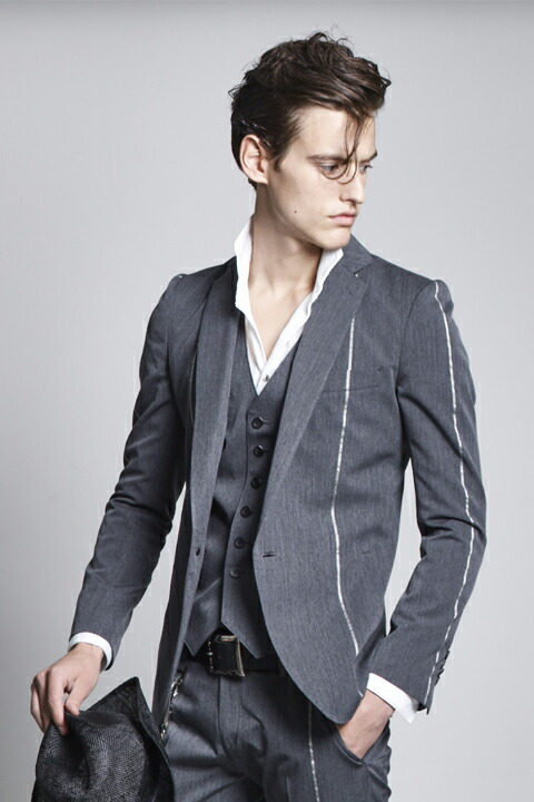 kiryuyrik キリュウキリュウ Silver925 Wooly Wool Gaba Jacket
