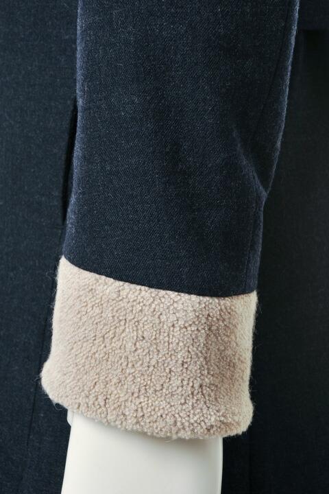 VADEL バデル boa lining trench coat