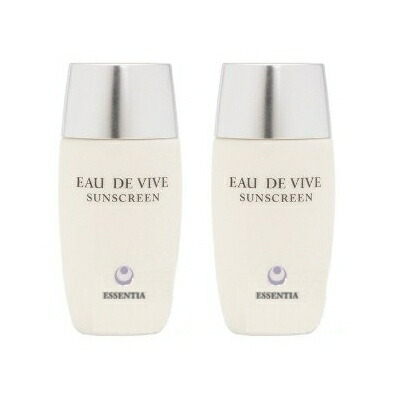 Eau De Vive Sunscreen 30ml 2set  3ml bonus