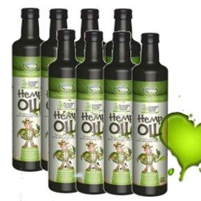 Certified Organic Hemp Oil 250ml 8P