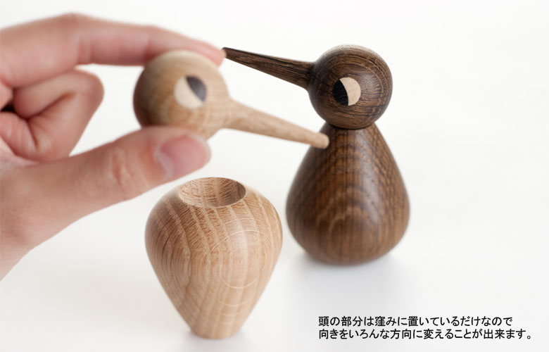 Birdバード・デンマーク木製オブジェ/architrectmadeアーキテクトメイド