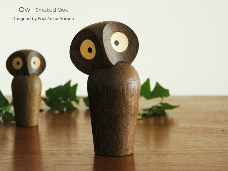owl,フクロウ,paulankerhansen,ポールアンカーハンセン,デンマーク木製オブジェ,architrectmade,オブジェ,置物