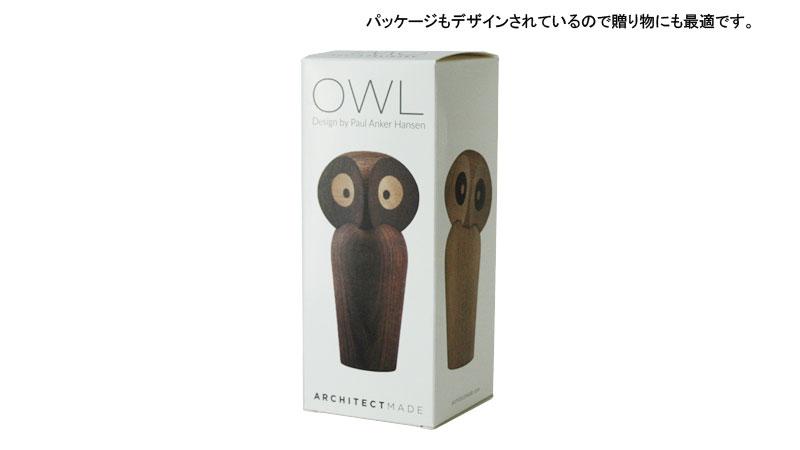 フクロウのパッケージ,owl,architrectmade,アーキテクトメイド