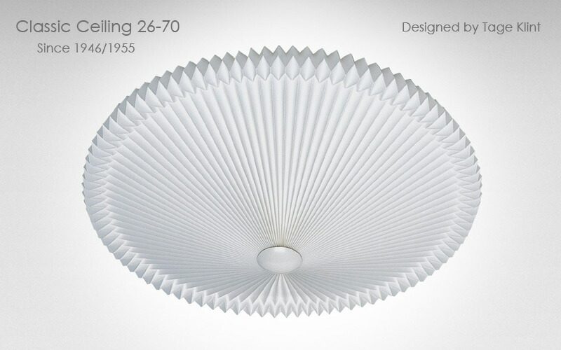 le klint,レ・クリント,classic ceiling,クラシックシーリング,天井照明,70cm,北欧シーリングライト,北欧デザイナーズ照明