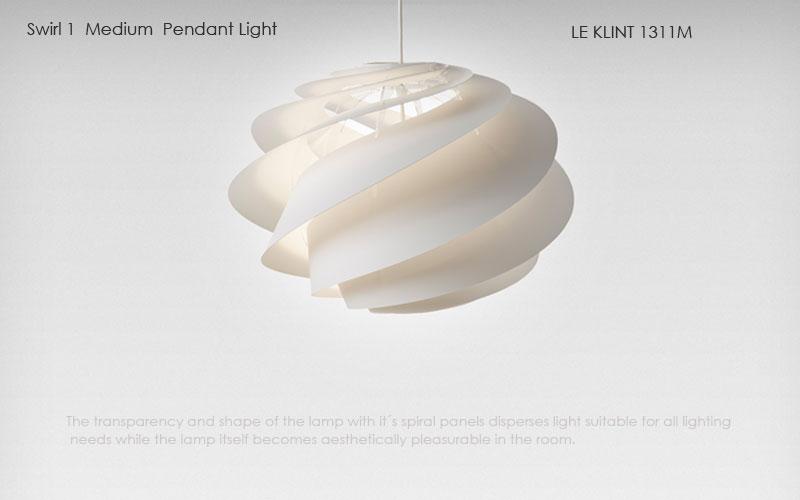 le klint,レ・クリント,Swirl(スワール)1,ミディアムサイズ,北欧ペンダントライト,北欧デザイナーズ照明