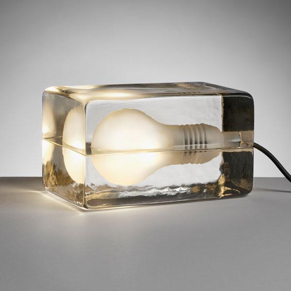 block lamp amber,ブロックランプ,,DESIGN HOUSE stockholm(デザインハウス・ストックホルム)harri koskinen,ハッリコスキネン,デザイナーズ照明,北欧スウェーデン,北欧雑貨,北欧インテリア,北欧ギフト