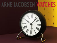 アルネヤコブセン,置き時計,北欧インテリア