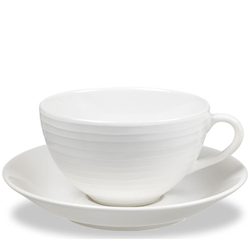 Blondカップ&ソーサー・ホワイト・デザインハウスストックホルム