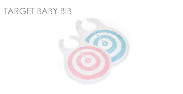 TARGET BABY BIB/ベビースタイ・前掛け/アティピック