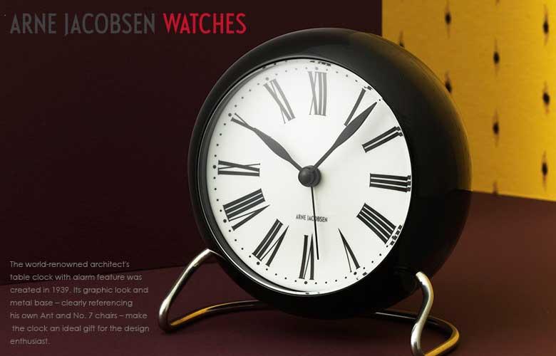 アルネヤコブセン,置き時計,ローゼンダール,北欧デンマーク