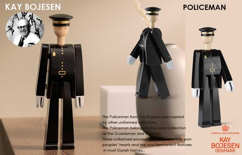 Kay Bojesen,カイ・ボイスン,POLICEMAN(ポリスマン)警察官,木製オブジェ,デンマーク