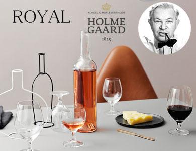 アルネヤコブセン,ロイヤル,グラス,ワイングラス,ホルムガード,北欧デンマーク