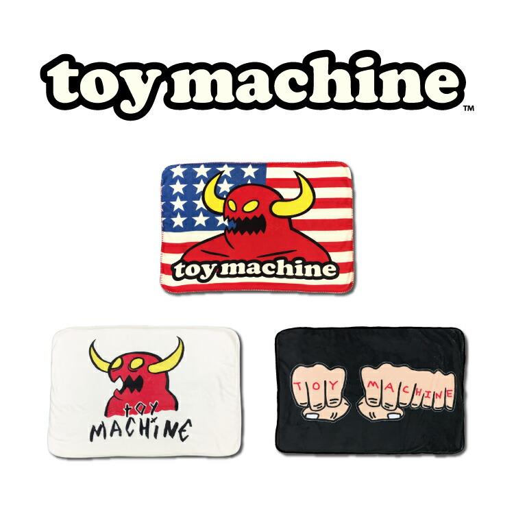 TOY MACHINE フリースブランケット