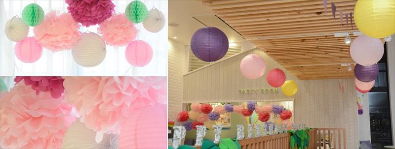 【楽天市場】ぺーパーランタン ボール レッド ランタン 30cm【ウェディング・ブライダル・二次会・パーティー用