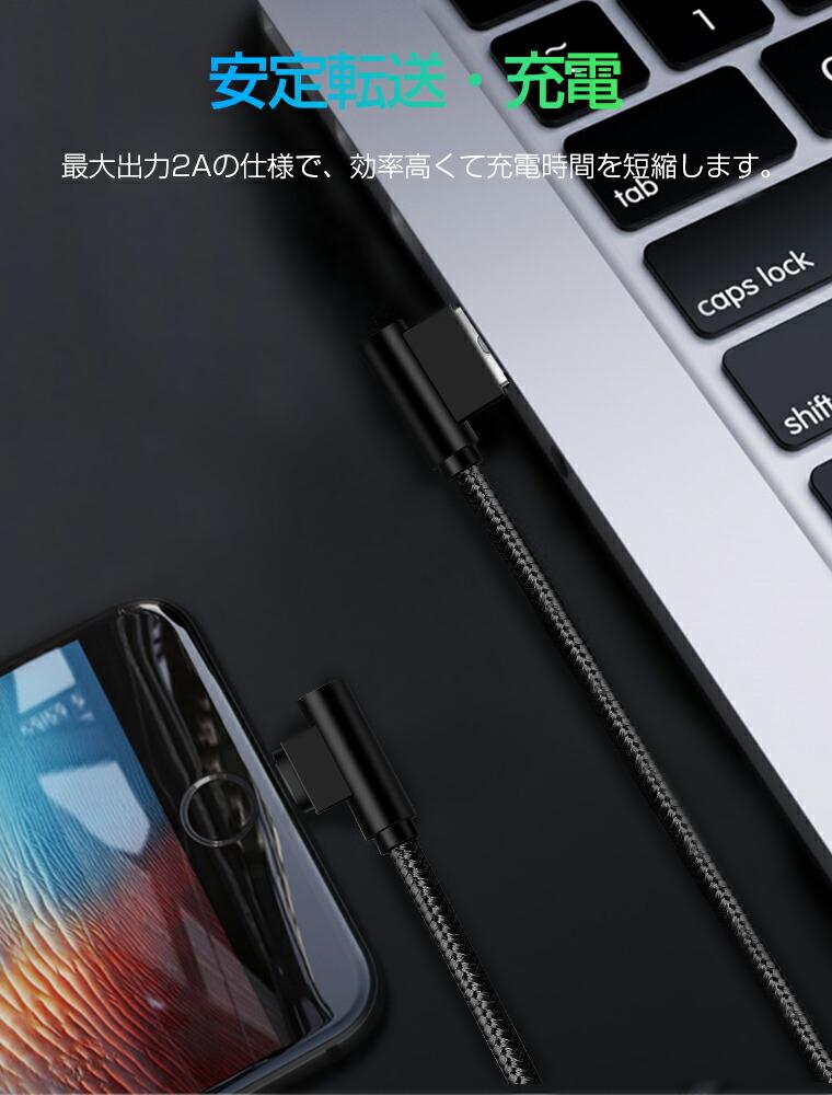 iPhone XS ケーブル