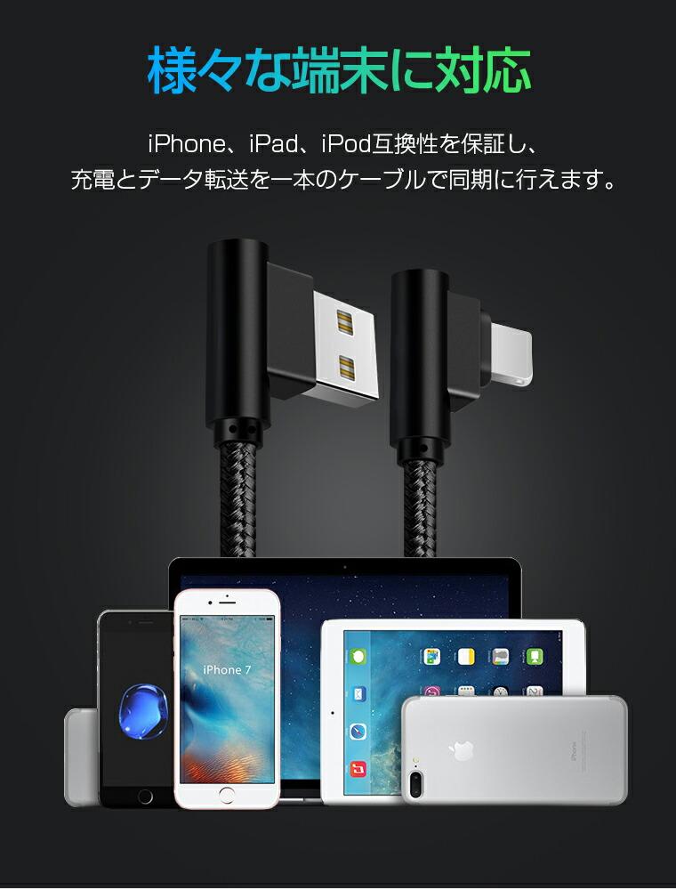 iPhone X 充電ケーブル