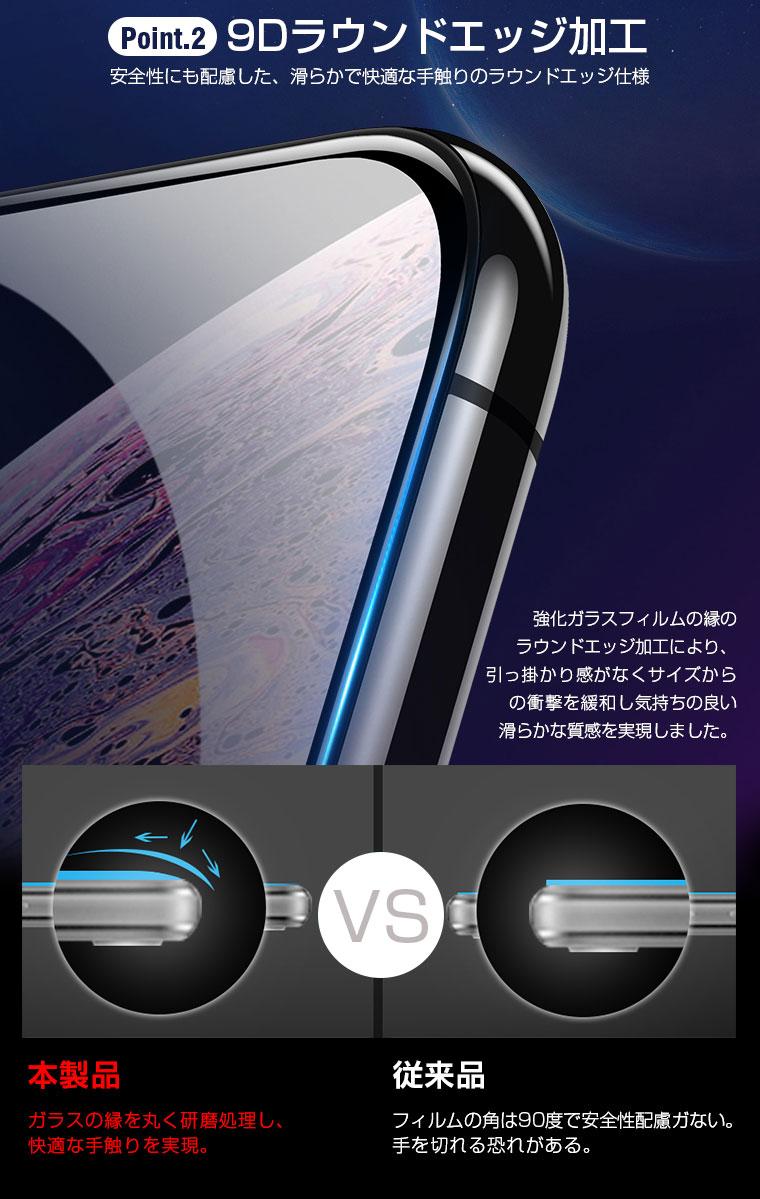 アイフォン 8 ガラスシート