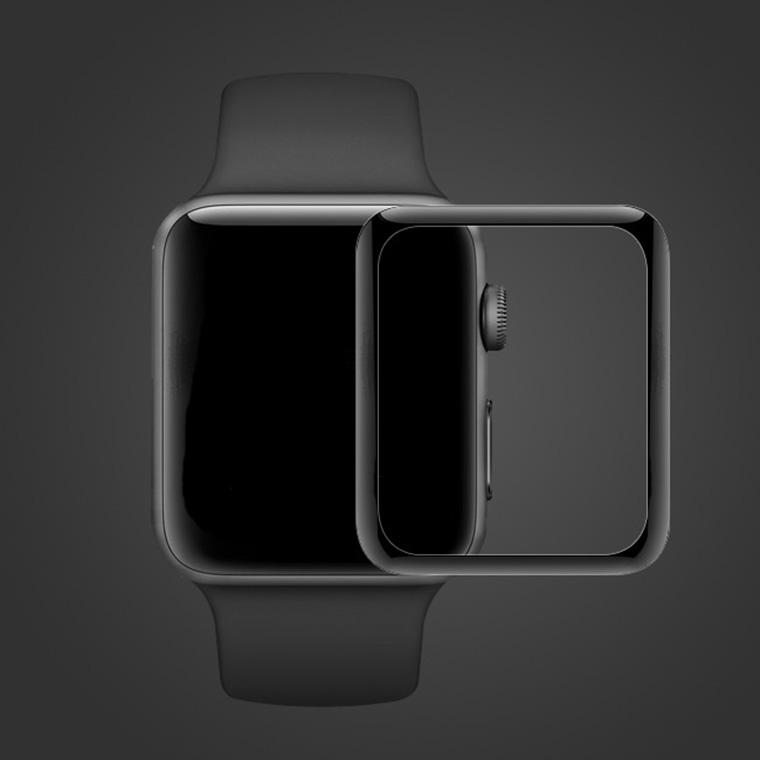 Apple watchフィルム ラウンドエッジ加工