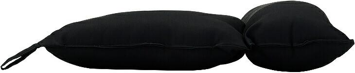 ストレートネック わた枕 ブラック