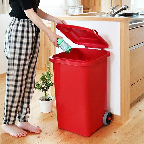 ゴミ箱 65L DULTON 屋外兼用 プラスチックトラッシュカン