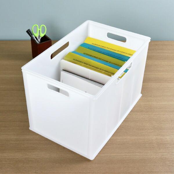 収納ボックス キューBOX ワイド深型