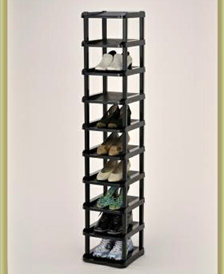 It Is Ten Steps Of Shoes Racks Which Space Saving Can Fully Store. I  Utilize A Vertical Dead Space And Can Store The Entrance Hall Becoming ...