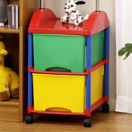 Toys stationery and letu0027s put anything in the drawer! Kidu0027s are afraid of staying organized. Than the urge to help organize tidying GASA cum and made fun ... & interior-palette | Rakuten Global Market: Pipe hanger kids storage ...