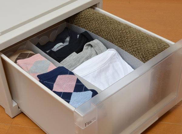 92bbb72d29 楽天市場】仕切りケース 下着収納 衣装ケース用 ( 引き出し 仕切り ...