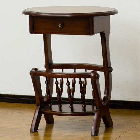 Livingut Side Table Telephone Stand Trevi Magazine Rack