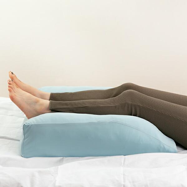 足クッション フットピロー 洗えるカバー付 日本製 50×60cm