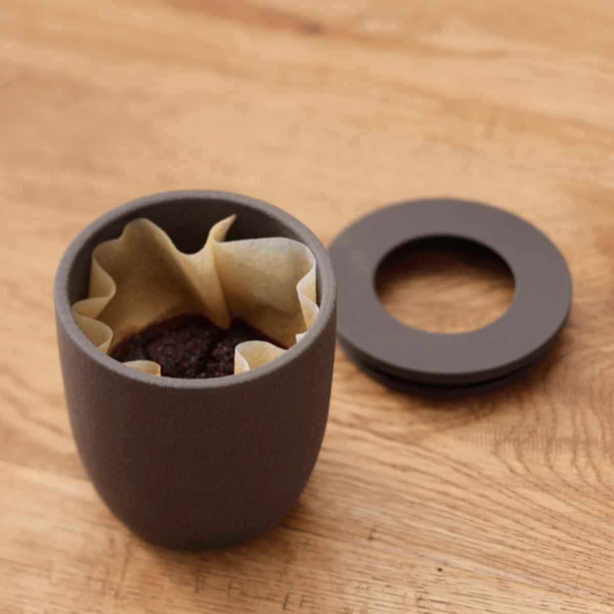 消臭剤 MARNA マーナ コーヒーかす消臭ポット