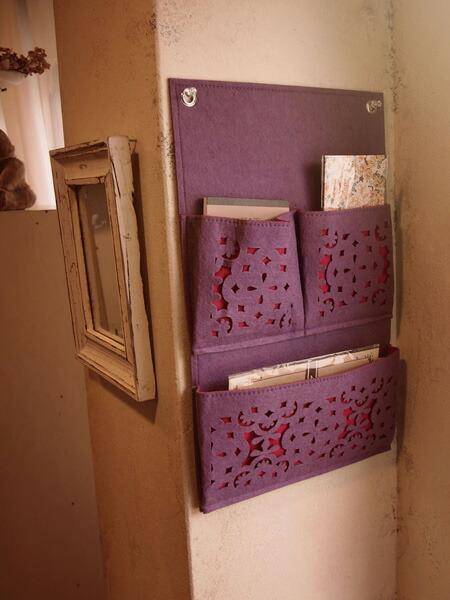 Product Information & interior-palette | Rakuten Global Market: Wall Pocket felt wall ...