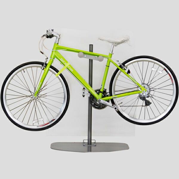 eb7688e4963939 壁を傷つけず置き場所を選びません大切な自転車を盗難や劣化から守り、室内でおしゃれにディスプレイできます。 女性でも自転車を置きやすい高さです。