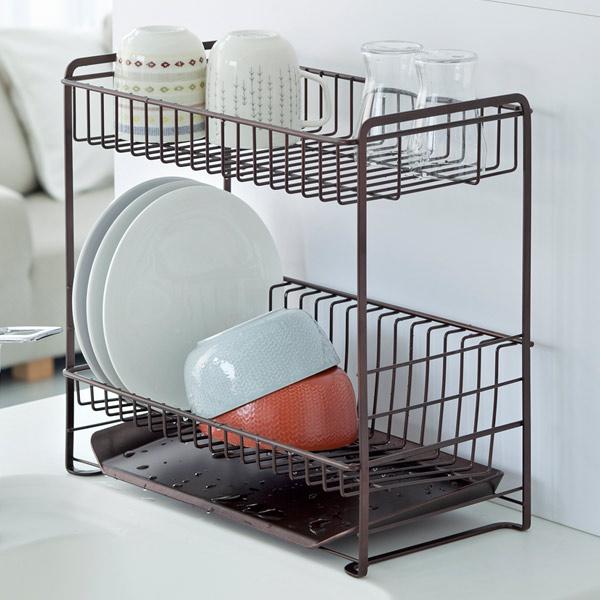 livingut | Rakuten Global Market: Dish drainer basket draining rack ...