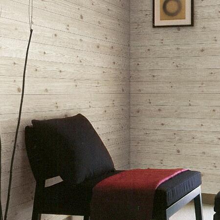 Livingut kabedeco sticker wallpaper seal whitewood peel - Easy peel off wallpaper ...