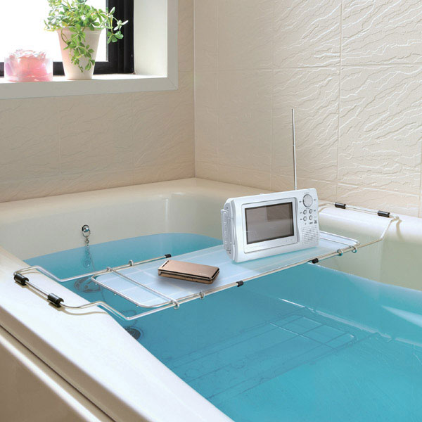 livingut | Rakuten Global Market: Bathtub trays, adjustable amenic ...