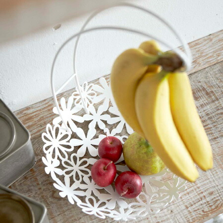 Creates A Banana Hanger Cute Flower Basket And Rounded Soft Atmosphere Try With Lovely Flowers In The Kitchen Living Room Dining Table Or Counter