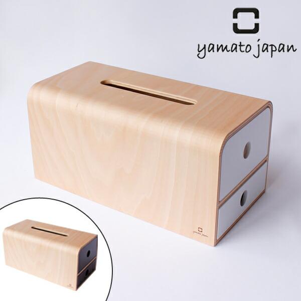 ティッシュケース ヤマト工芸 yamato STOCK tissue