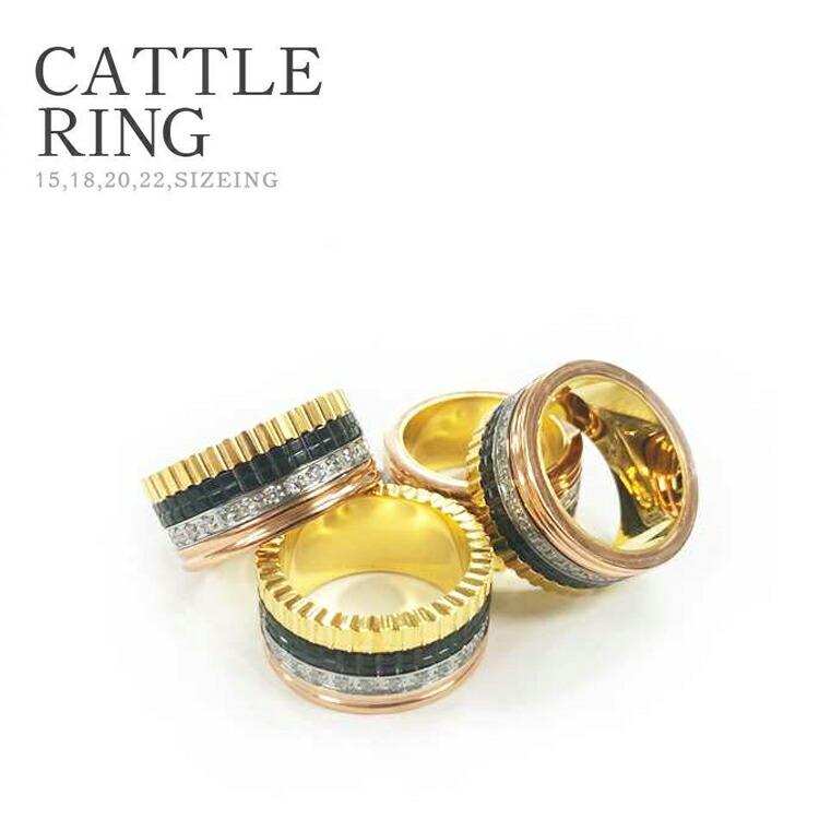 キャトル リング メンズ イタリア 指輪 アクセサリー ジュエリー アクセ 大人 おしゃれ ジルコニア 4連 ネックレス セレブ トレンド 人気 太め ごつい セール