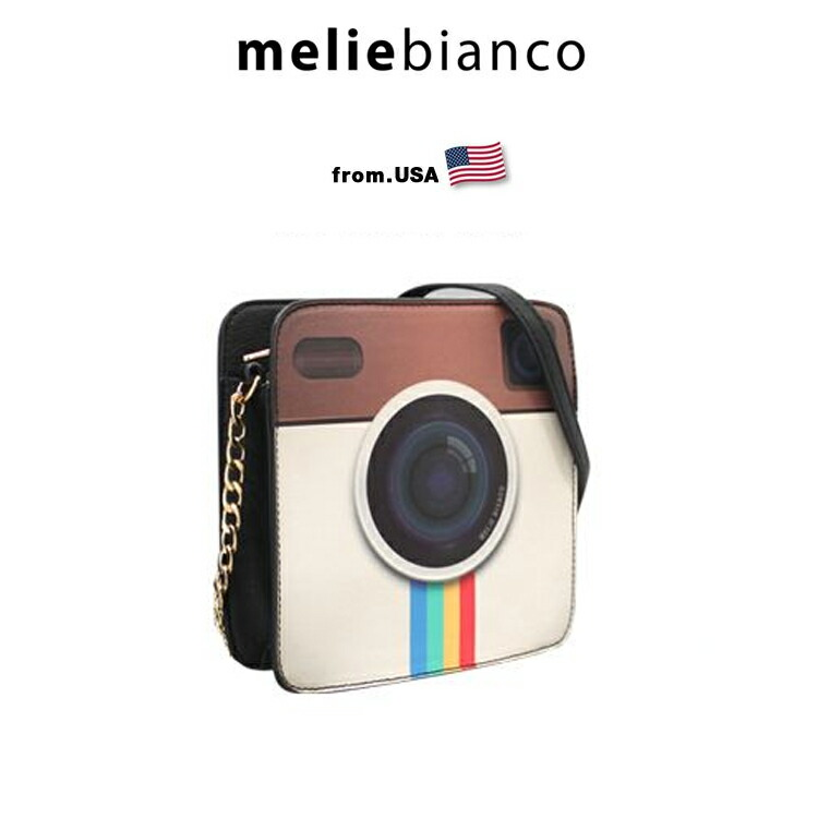 melie bianco メリービアンコ Selfie Camera Bag (A1729) インスタグラム バッグ インスタ USA 正規品 セレブ インポート