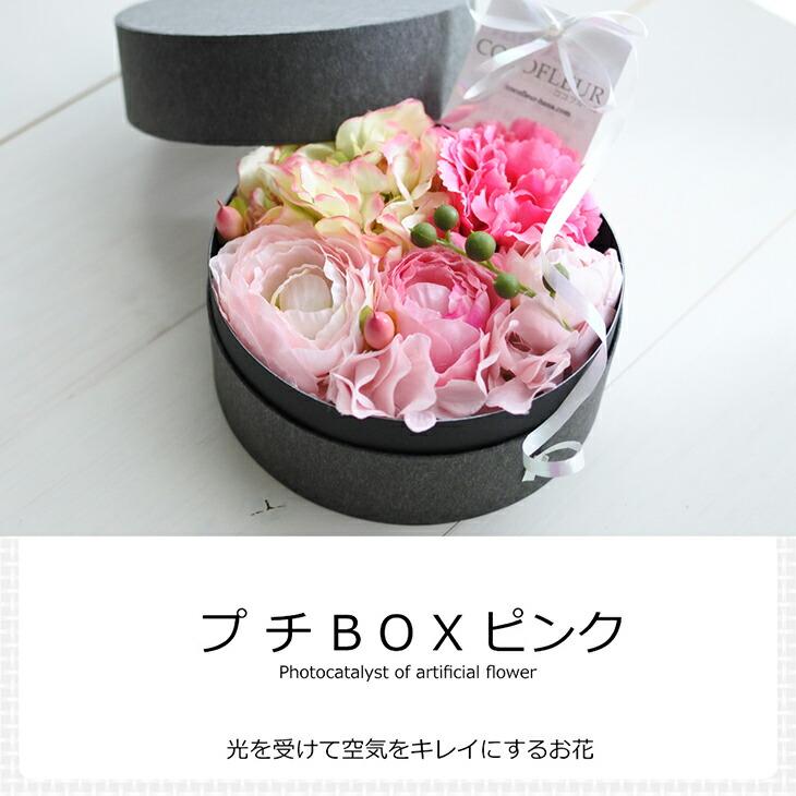 空気をきれいにする プチボックス花材 母の日ギフト